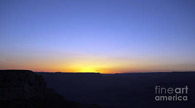 Grand Canyon Sunset #2 Print by Denise Woldring