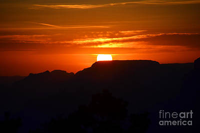 Photograph - Grand Canyon Sunset by Debra Thompson