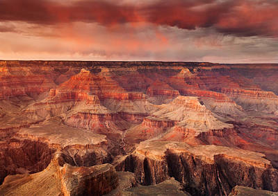 Grand Canyon Sunset Art Print by Rory Wallwork