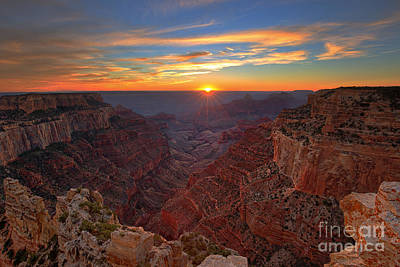 Photograph - Grand Canyon Sunset by Shishir Sathe