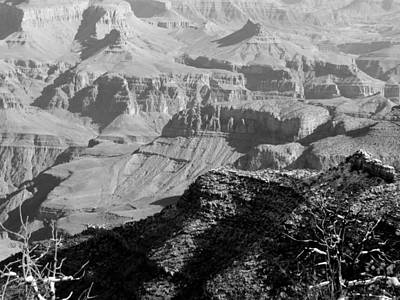 Photograph - Grand Canyon Textures by Judy Wanamaker