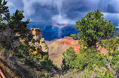 Photograph - Grand Canyon V by C H Apperson