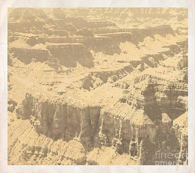 Digital Art - Grand Canyon V by Tim Richards