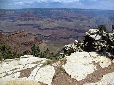 Photograph - Grand Canyon View 2 by Philomena Zito