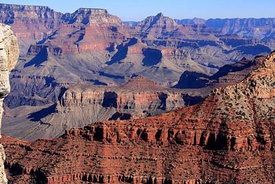 Photograph - Grand Canyon View - Arizona by Aidan Moran
