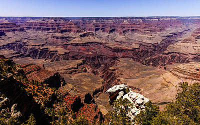 Photograph - Grand Canyon South Rim East by John Johnson