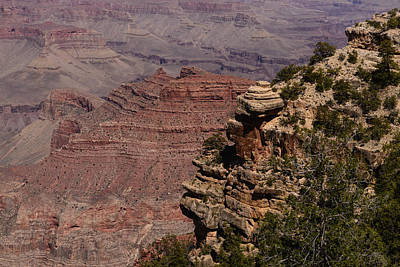 Photograph - Grand Canyon View E by John Johnson