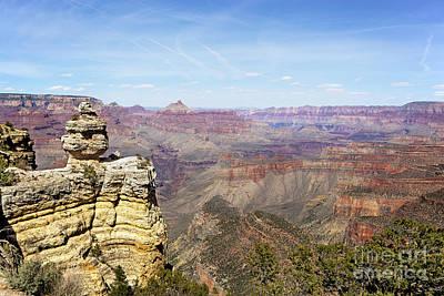 Grand Canyon View Print by Jane Rix
