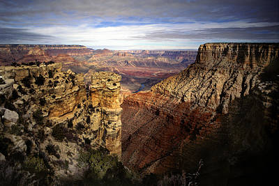 Photograph - Grand Canyon View by Martin Sullivan