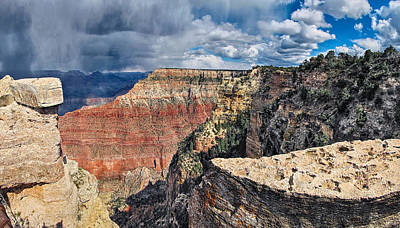 Photograph - Grand Canyon Vii by C H Apperson