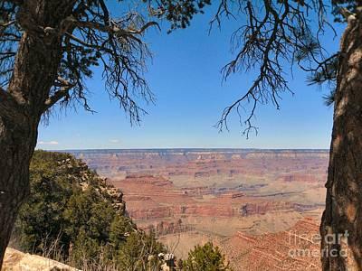 Photograph - Grand Canyon Vista 6 by Audrey Van Tassell