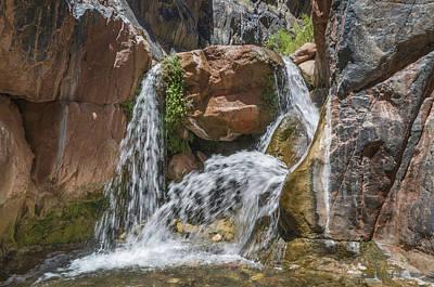 Photograph - Grand Canyon Waterfall by Alan Toepfer