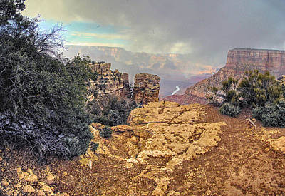 Photograph - Grand Canyon Xvii by C H Apperson
