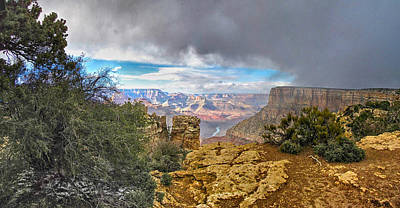 Photograph - Grand Canyon Xviii by C H Apperson