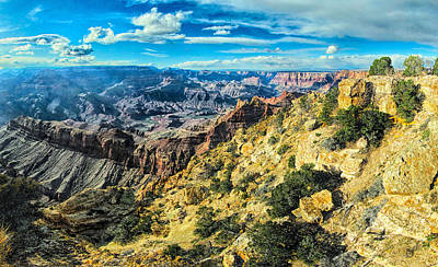 Photograph - Grand Canyon Xx by C H Apperson