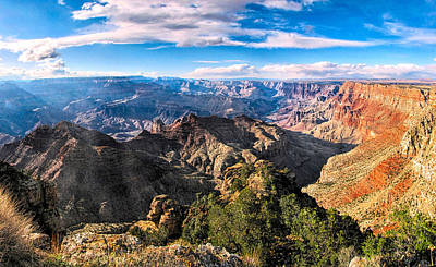 Photograph - Grand Canyon Xxii by C H Apperson