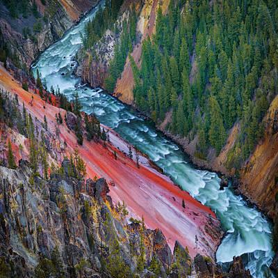 Yellowstone Wall Art - Photograph - Grand Canyon Yellowstone by Ignacio Palacios