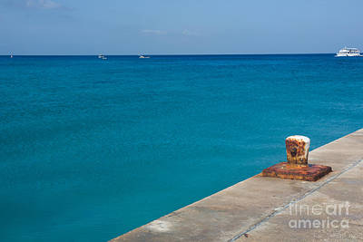 Photograph - Grand Cayman Blue by Suzanne Luft