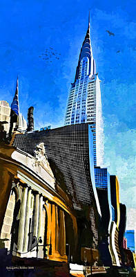 Grand Central #2 Art Print