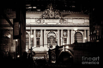 Photograph - Grand Central As Seen From Pershing Square by Miriam Danar