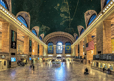 Photograph - Grand Central by Erwin Spinner