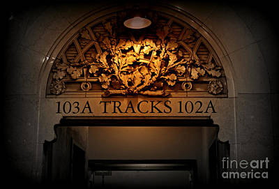 Photograph - Grand Central Gate - Track 102 by Miriam Danar