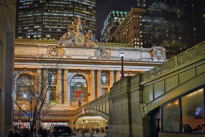 Grand Central Nocturnal Art Print