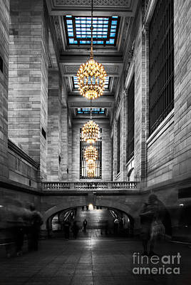 Buidling Photograph - Grand Central Station IIi Ck by Hannes Cmarits