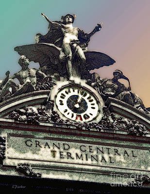 Grand Central Station - Nyc Art Print by Linda  Parker