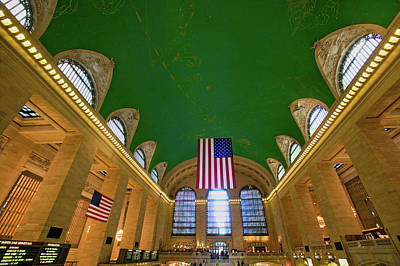 Grand Central Station Panoramic View Art Print