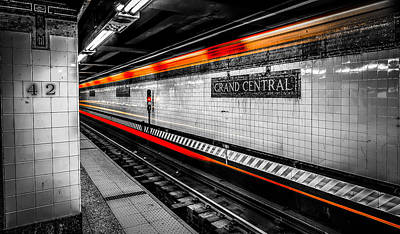 Photograph - Grand Central Station Subway by David Morefield