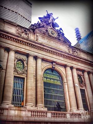 Photograph - Grand Central Station Terminal by Susan Garren