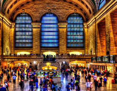 Photograph - Grand Central Terminal 001 by Jeff Stallard
