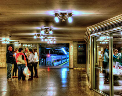 Photograph - Grand Central Terminal 004 by Jeff Stallard