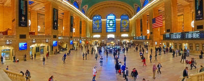 Photograph - Grand Central Terminal 008 by Jeff Stallard