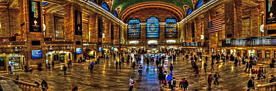 Photograph - Grand Central Terminal 009 by Jeff Stallard