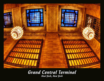 Photograph - Grand Central Terminal 017 by Jeff Stallard