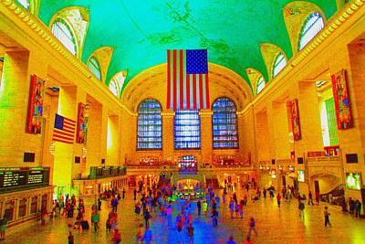 Grand Central Terminal Art Print by Dan Hilsenrath