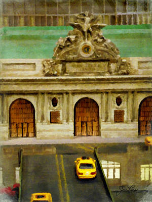 Painting - Grand Central Terminal  Nyc by Joan Reese