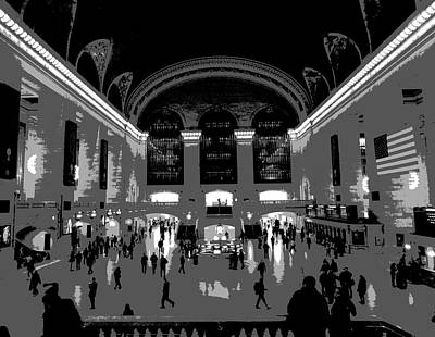 New Mind Photograph - Grand Central Terminal Poster by Dan Sproul