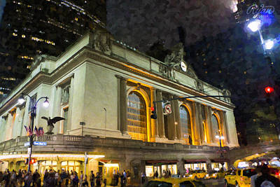 Wall Art - Digital Art - Grand Central Terminal by Ryan Cosgrove