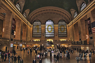 Photograph - Grand Central Terminal by Steve Purnell