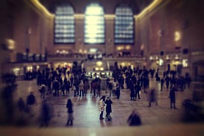 Grand Central Tilt Art Print