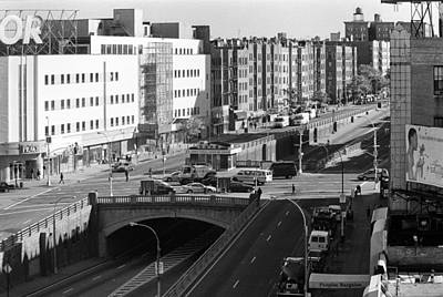 Photograph - Grand Concourse Bronx by Dave Beckerman