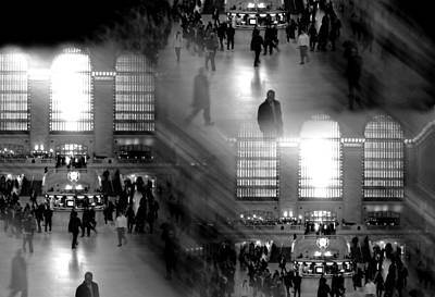 Tripple Photograph - Grand Concourse by Diana Angstadt