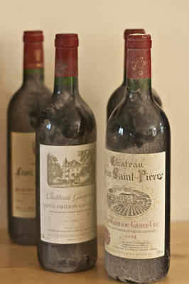 Table Wine Photograph - Grand Cru by Georgia Fowler