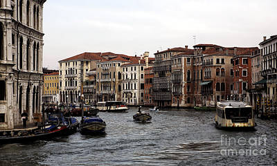 Venice Photograph - Grand Day On The Canal by John Rizzuto