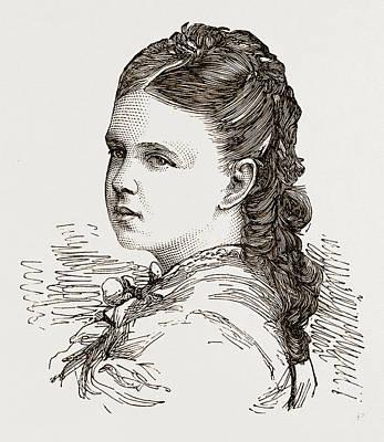 Grand Duchess Marie-alexandrovna Only Daughter Of The Czar Art Print