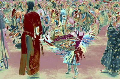Photograph - Grand Entry 10 by Clarice  Lakota