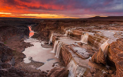 Photograph - Grand Falls by Tassanee Angiolillo